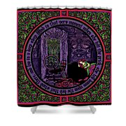 Celtic Sleeping Beauty Part II The Wound Shower Curtain