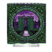 Celtic Sleeping Beauty Part IIi The Journey Shower Curtain