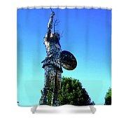 Celtic Warrior Shower Curtain