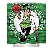 Celtics Barn Door Shower Curtain