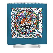 Celts Box Shower Curtain