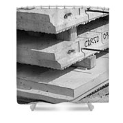 Cement Floors Shower Curtain