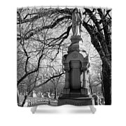 Cemetery 1 Shower Curtain