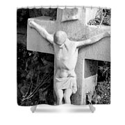 Cemetery 2 Shower Curtain