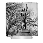 Cemetery 6 Shower Curtain