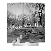 Cemetery 7 Shower Curtain