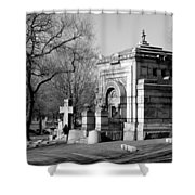 Cemetery 8 Shower Curtain