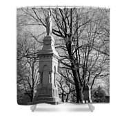 Cemetery 9 Shower Curtain