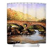 Cenarth Bridge And Falls Shower Curtain