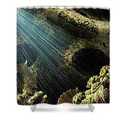 Cenote II Shower Curtain