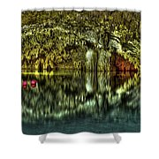 Cenote Shower Curtain