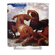Centaurs 1873 Shower Curtain