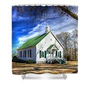Centennial Christian Church Est 1909 Shower Curtain