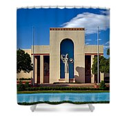Centennial Hall At Fair Park - Dallas Shower Curtain