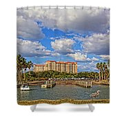 Centennial Park Boat Ramp Shower Curtain