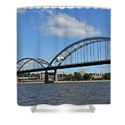 Centennial Spans Shower Curtain