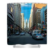 Center City Shower Curtain