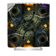 Center Focus 3 Shower Curtain