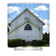 Center Ridge Presbyterian Church Shower Curtain