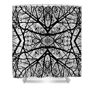 Centering Solitude Shower Curtain