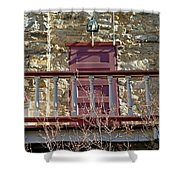 Central City Opera House Door Stage Left Shower Curtain