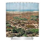 Central Coast Sand Dunes II Shower Curtain
