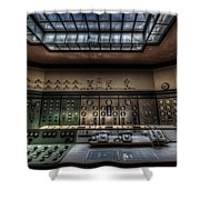 Central Control  Shower Curtain