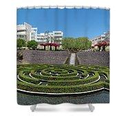 Central Garden Shower Curtain
