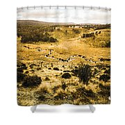 Central Highlands Of Tasmania Shower Curtain