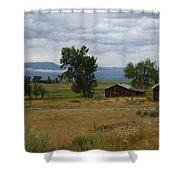 Central Idaho Scene Shower Curtain