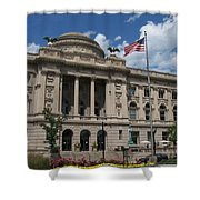 Central Library Milwaukee Shower Curtain