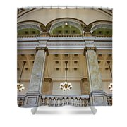 Central Library Milwaukee Interior Shower Curtain