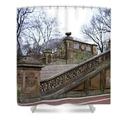 Central Park Bethesda 1 Shower Curtain