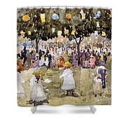 Central Park  New York City  July Fourth  Shower Curtain