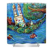 Central Park West Shower Curtain