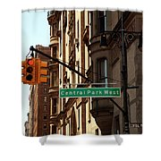 Central Park West Shower Curtain