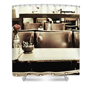 Central Reservation Shower Curtain