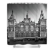 Central Station Shower Curtain