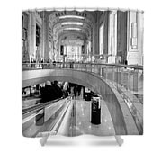 Central Station Milan 2 Shower Curtain