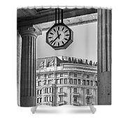 Central Station Milan 3 Shower Curtain