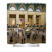 Central Station New York  Shower Curtain