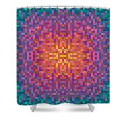 Centric Shower Curtain