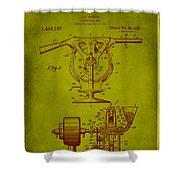 Centrifugal Gun Patent Drawing 3j Shower Curtain