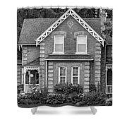 Century Home - Bw Shower Curtain
