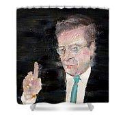 Banker Shower Curtain