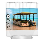 CEO Shower Curtain