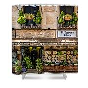 Ceramic Shop - Toledo Spain Shower Curtain