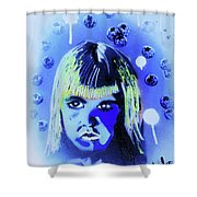 Cereal Killers - Boo Berry Shower Curtain