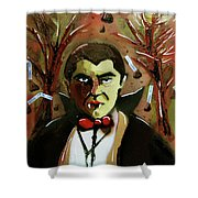Cereal Killers - Count Chocula Shower Curtain