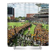 Ceremonial Running Of The Baylor Line Shower Curtain